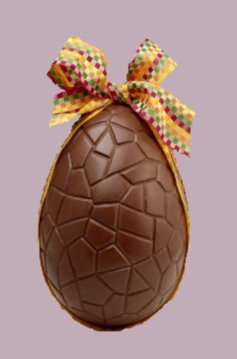Make Your Own Chocolate Easter Egg Like This One