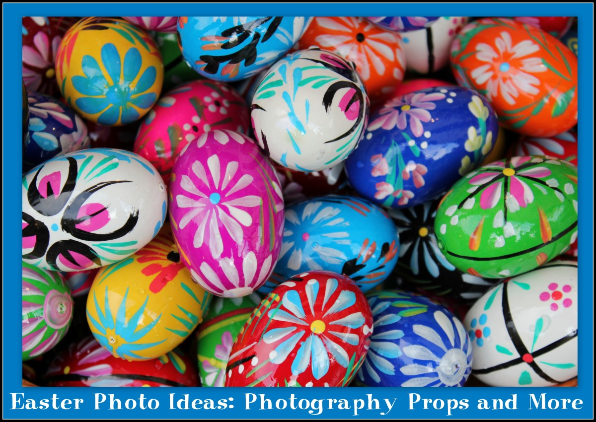 Easter Photo Ideas: Photography Props and More