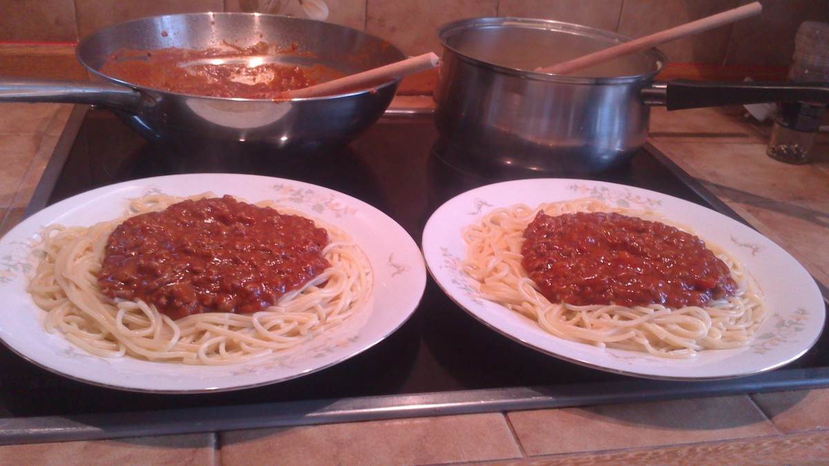how to cook spaghetti bolognese from scratch