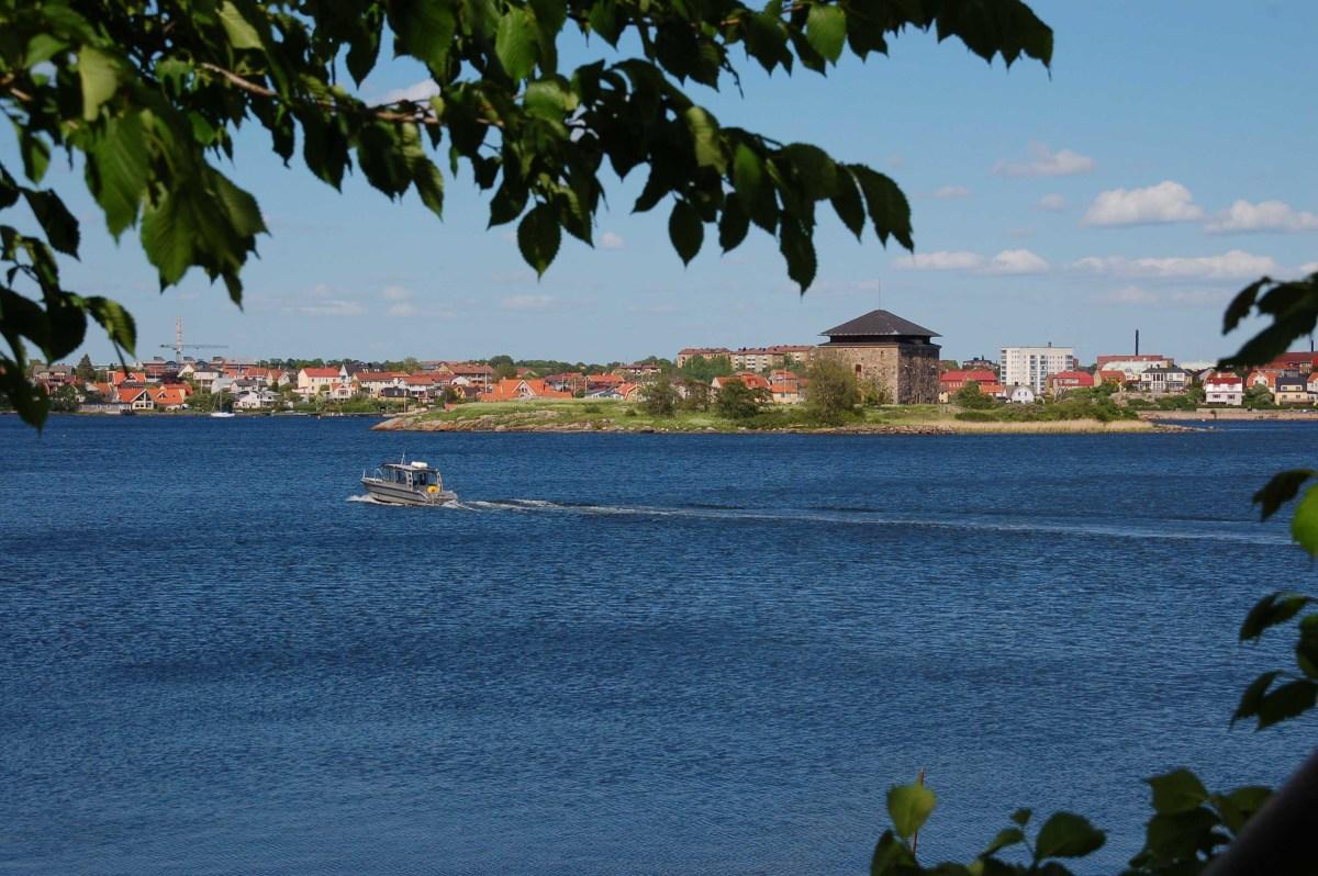 Karlskrona in Blekinge, South Sweden, is a town built on islands, just like Stockholm
