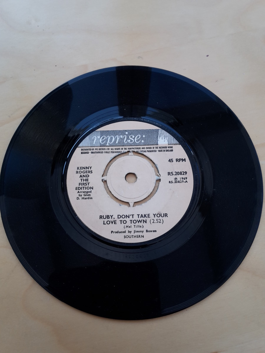 Kenny Rogers and The First Edition on Reprise Label