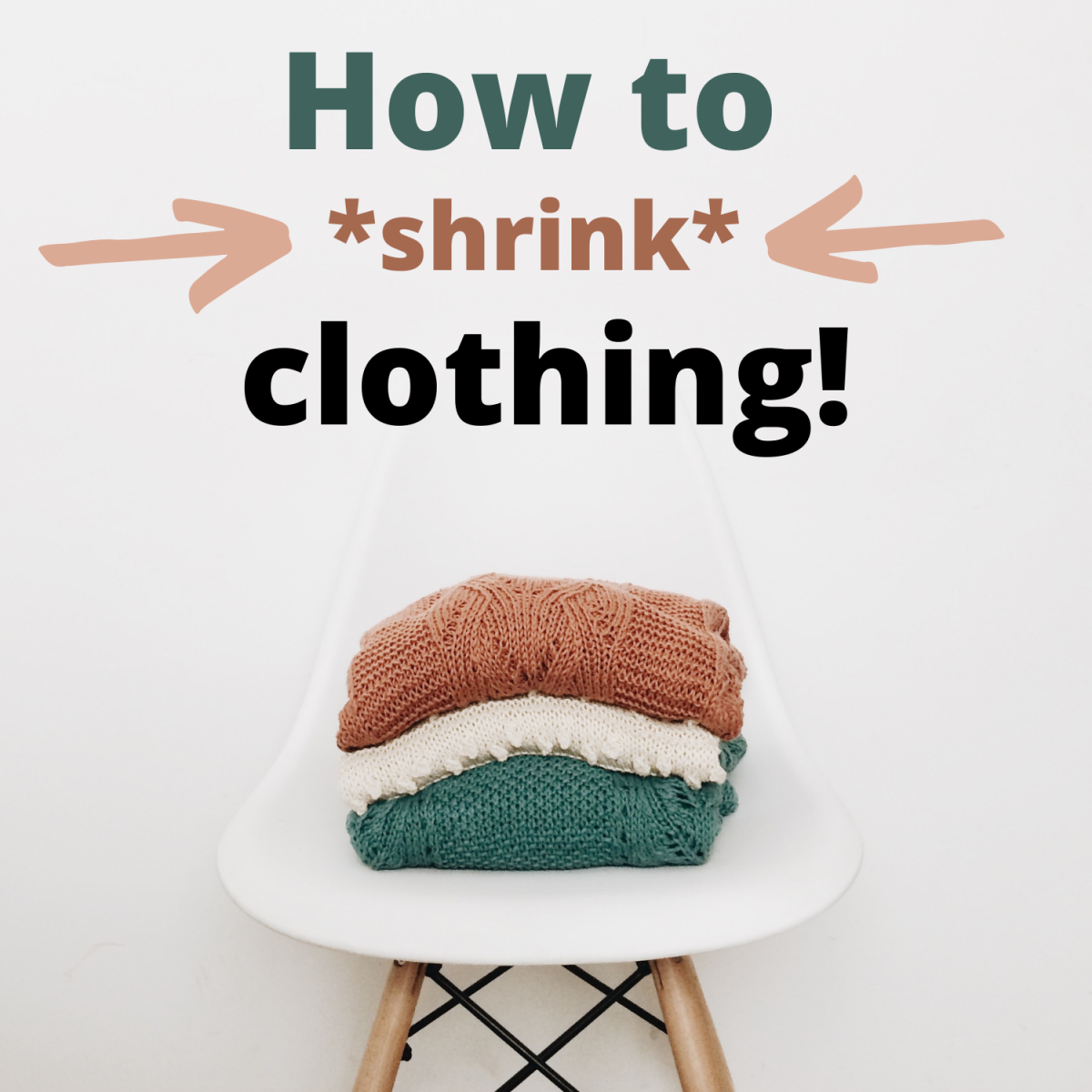 How to make too-big clothes just a bit smaller.