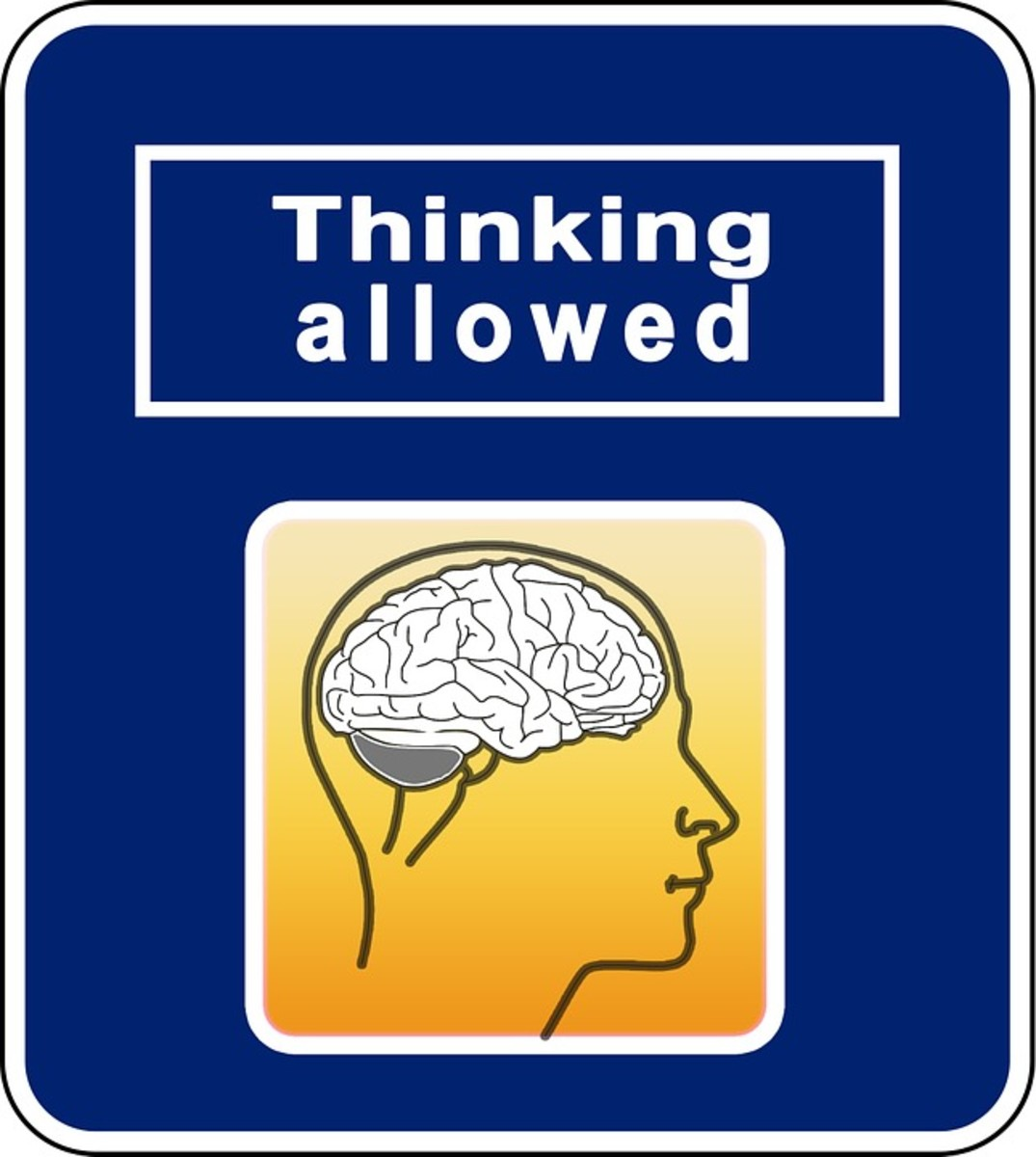 Sometimes, NO thinking is allowed.