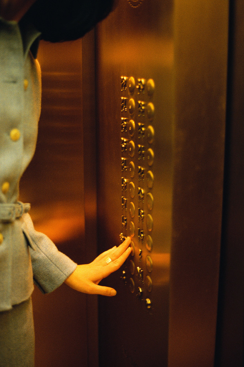 Stuck and Unstuck in the Elevator - A Short Story
