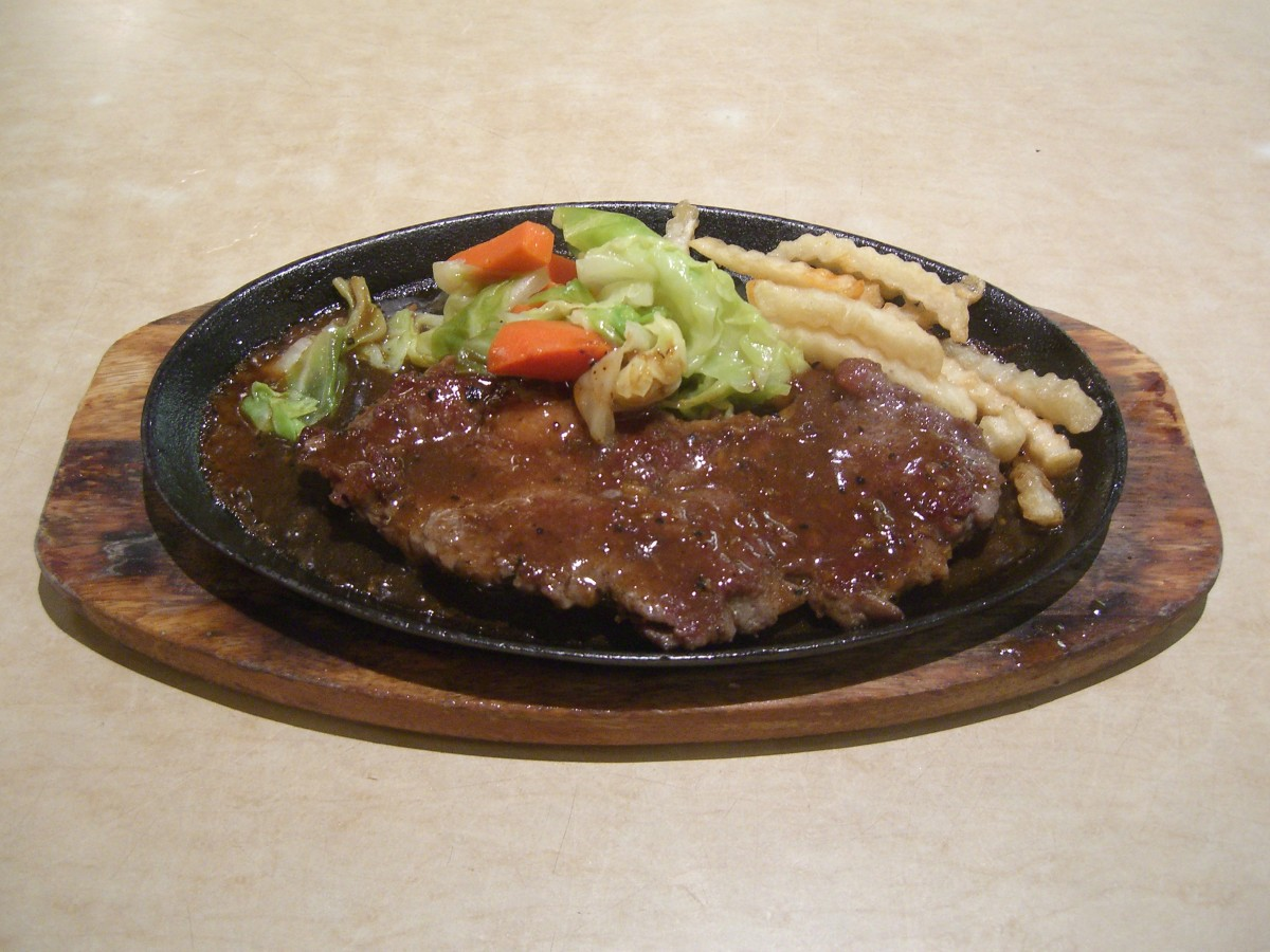 Hungarian Food - Braised Steak (Rostélyos)