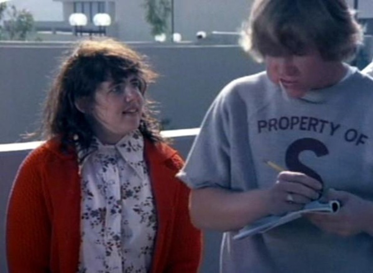 Stockard Channing and Larry Wilcox in The Girl Most Likely to....