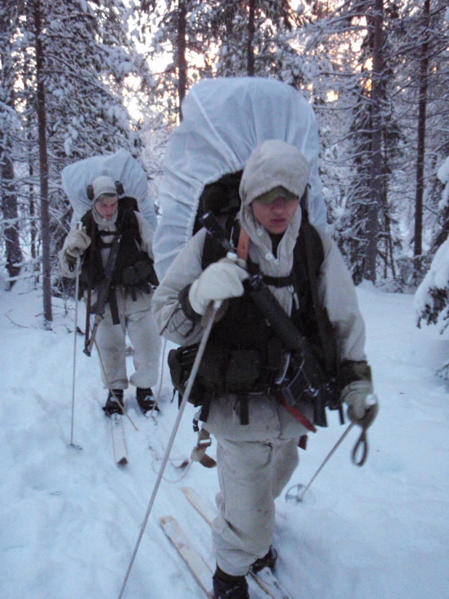 Swedish rangers on the move, a photo from 2008
