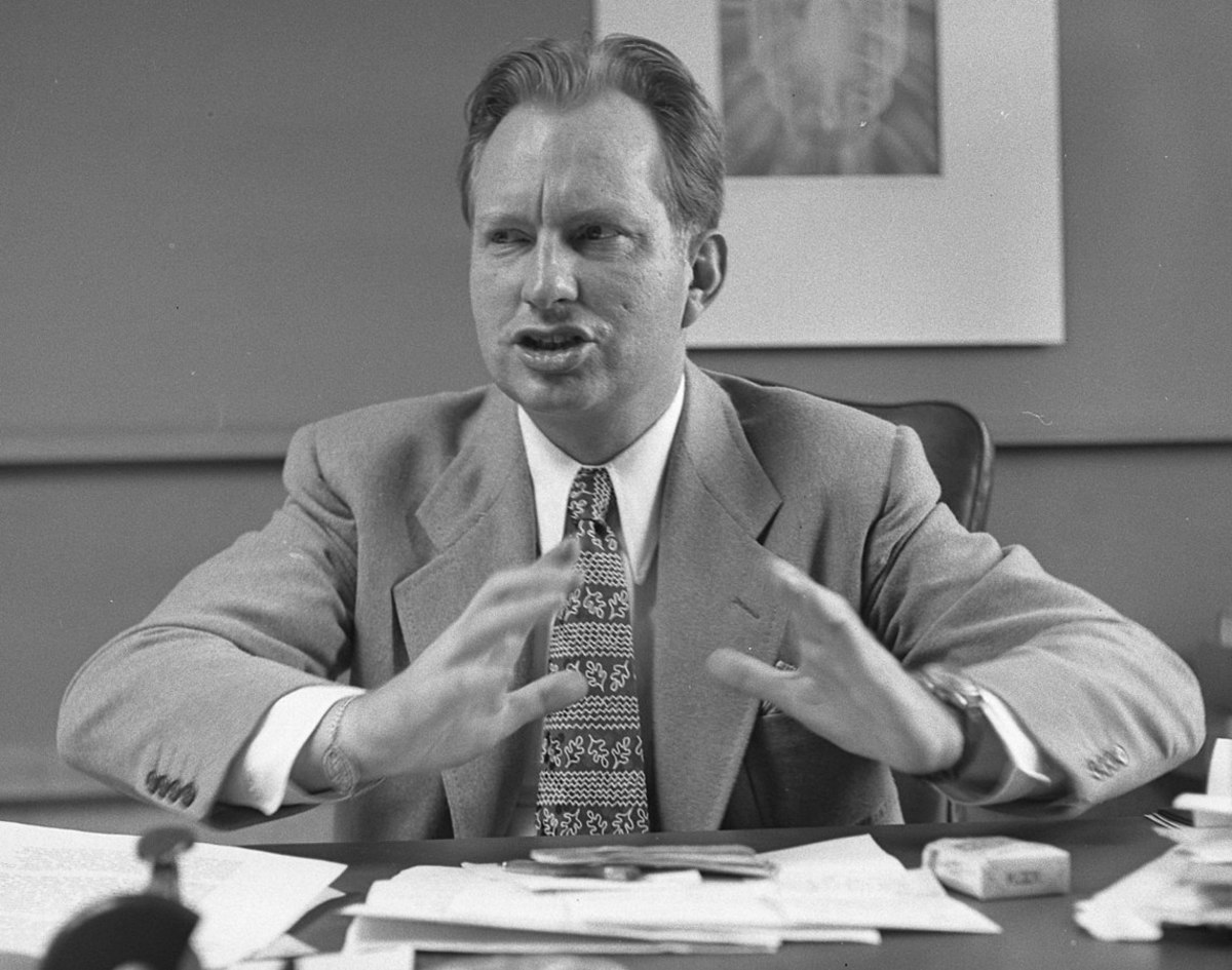 L. Ron Hubbard - American science fiction author, philosopher and the founder of the Church of Scientology and an IG Nobel Prize winner