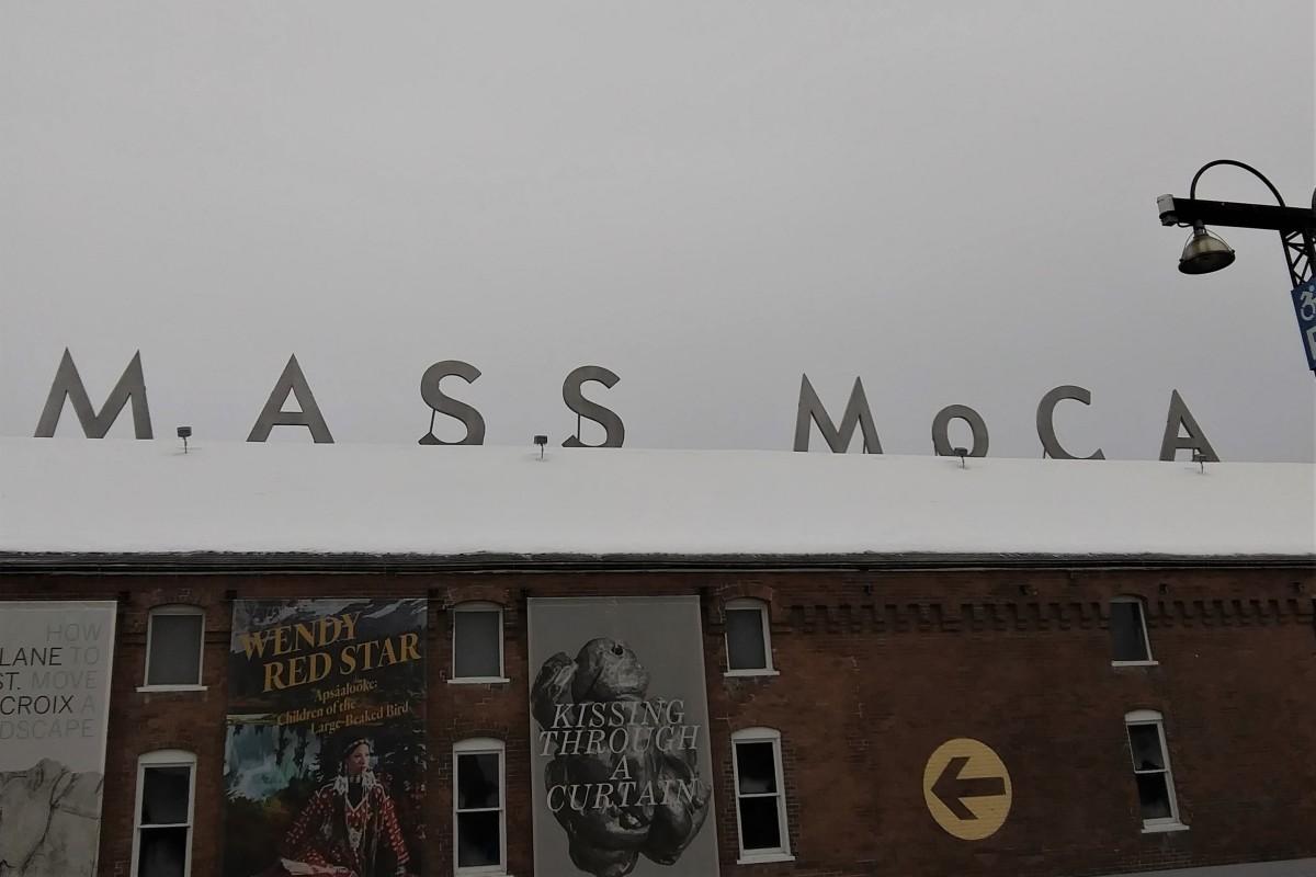 In front of MassMoca   by Citywalks.space