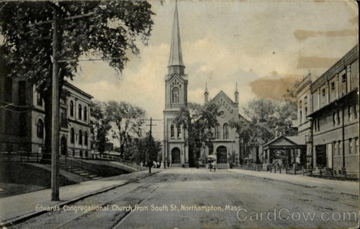 JONATHAN EDWARDS CONGREGATIONAL CHURCH, NORTHAMPTON, MASSACHUSETTS