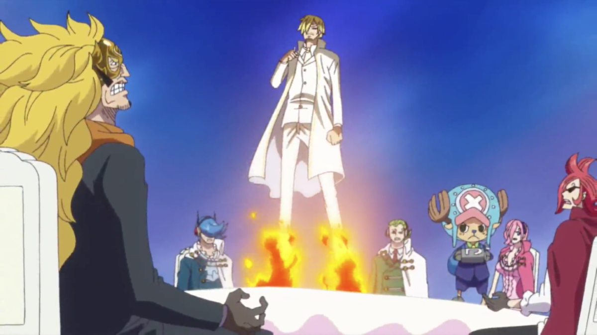 Even after rejecting them, Sanji chooses to save his family