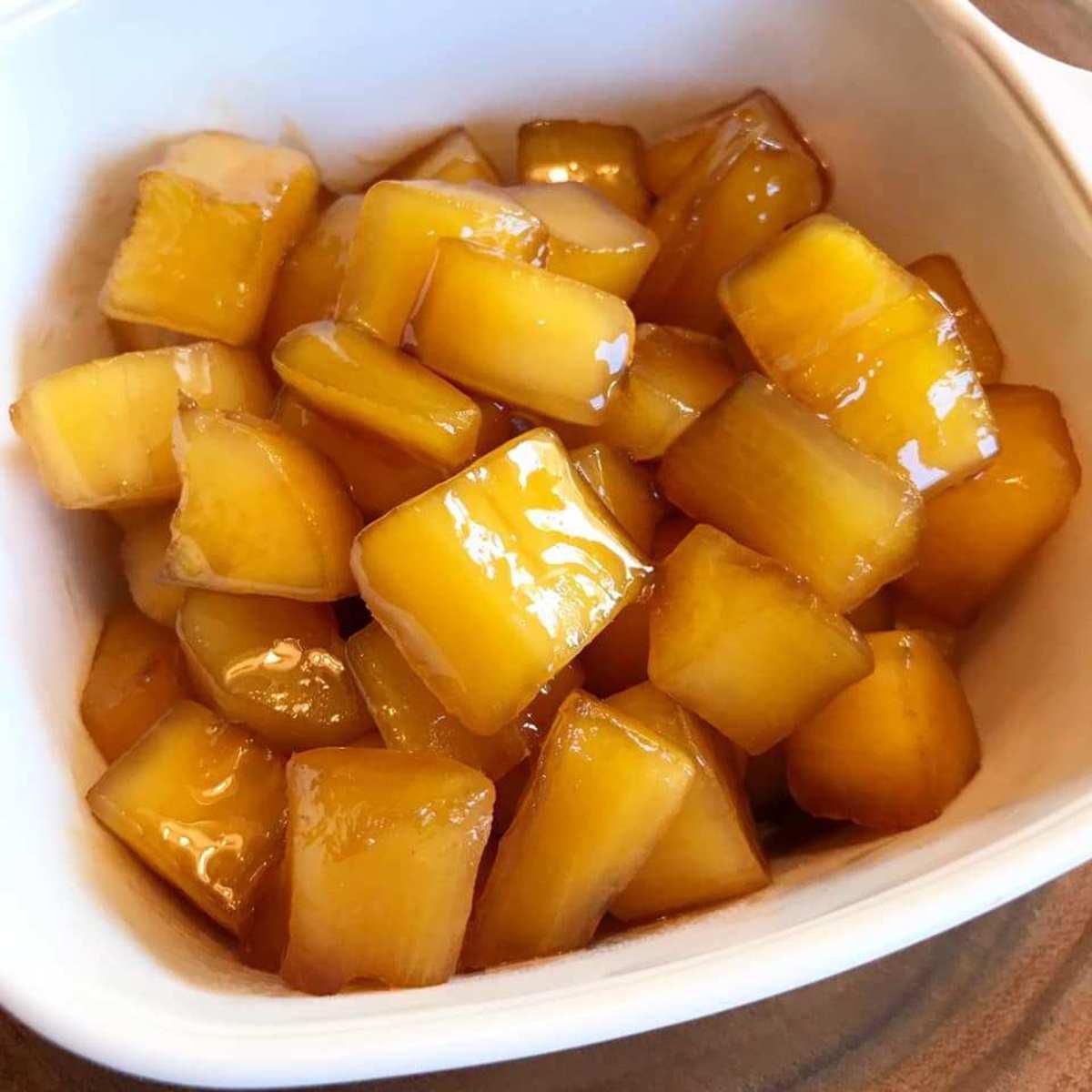 Matamis na kamote was my favorite childhood dessert