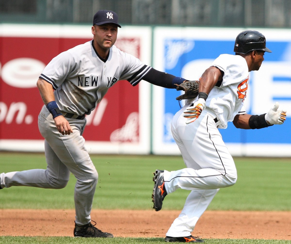 Derek Jeter was the face of the Yankees throughout his career and made several memorable defensive plays during the postseason.