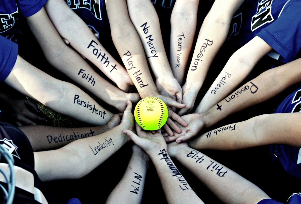 Inspirational softball quotes