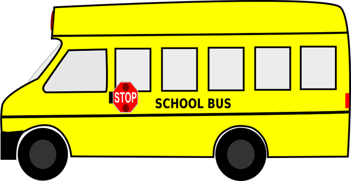 CC0 Public Domain School Bus