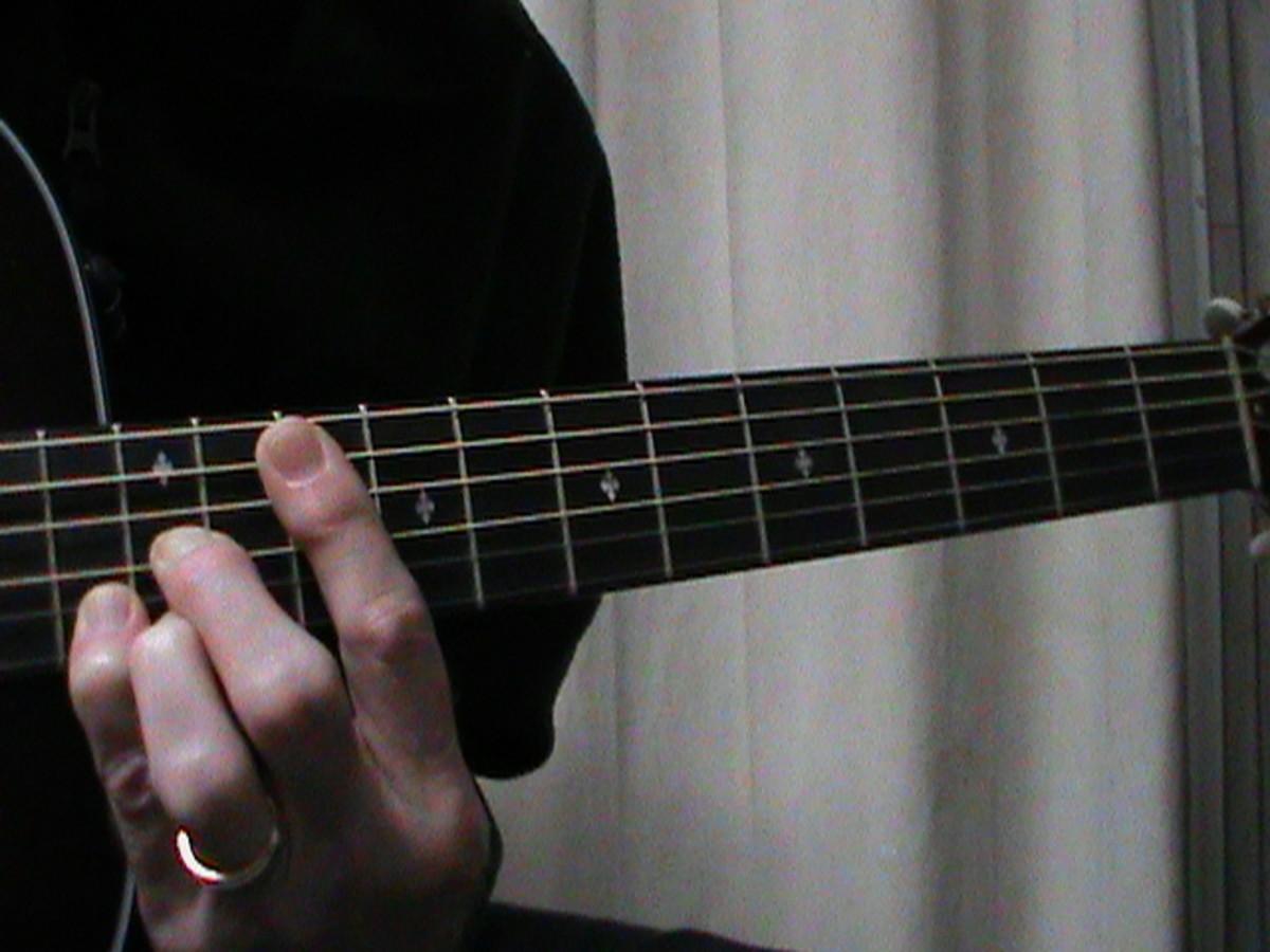 D shaped C Major chord