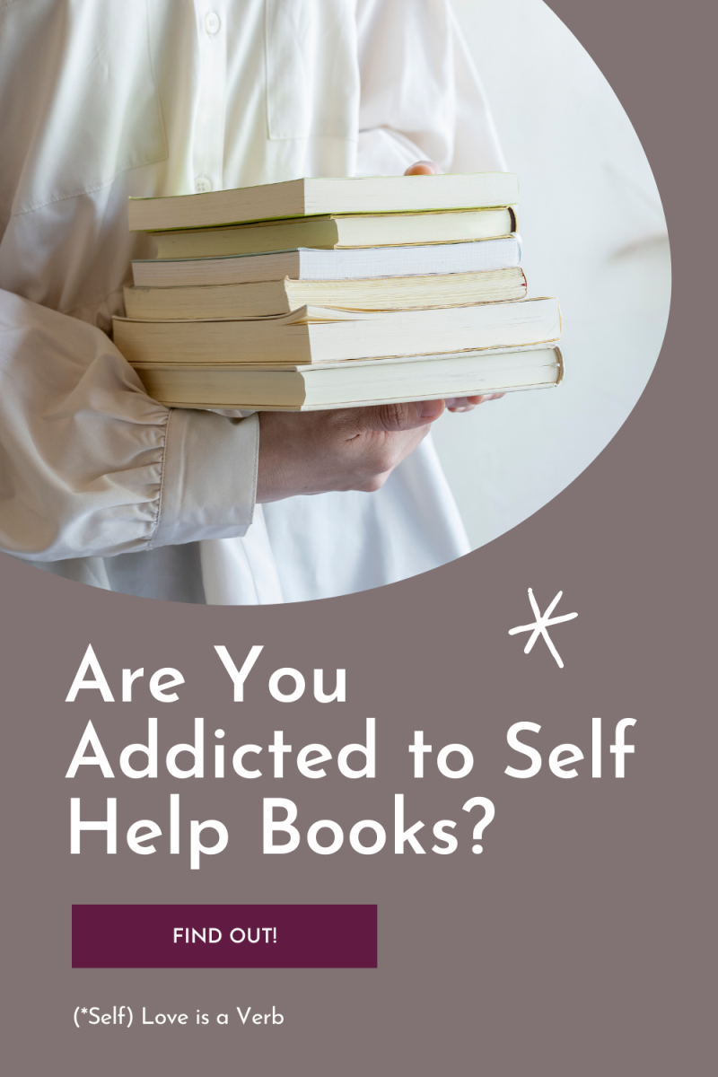 If you find yourself buying more self-help books than you can read, buying more and more self help books on the same topic, and not getting results for the money you spent, you might be addicted to the genre.