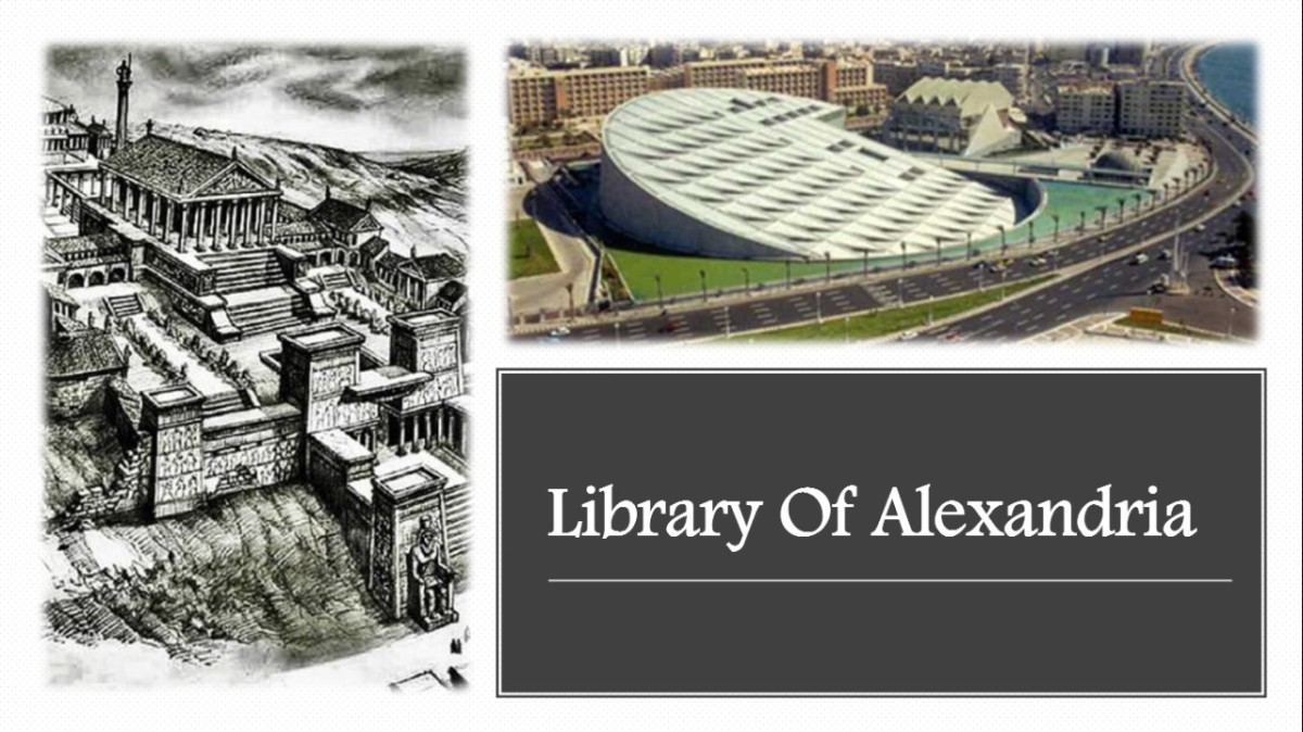 This article contains informative knowledge about the Library of Alexandria, one of the oldest libraries around the world, including its history, description, and main library sections.