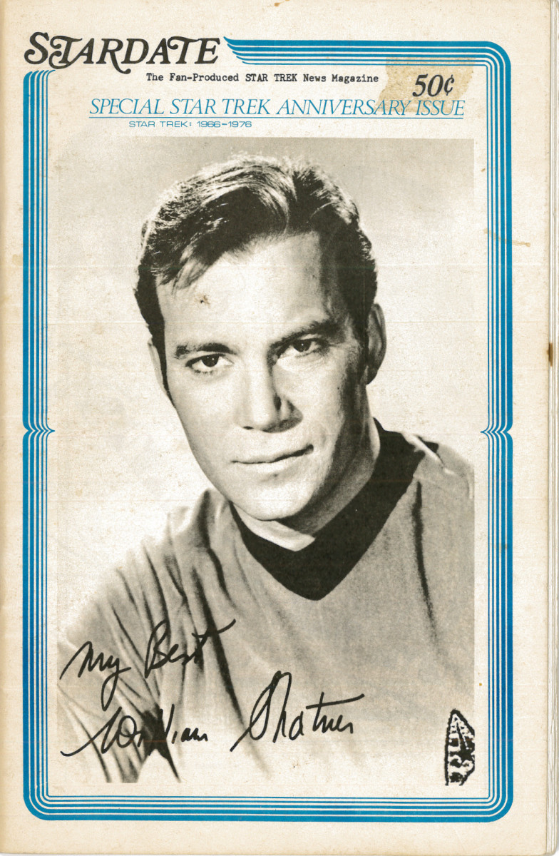 Stardate, Fan Produced Star Trek News Magazine