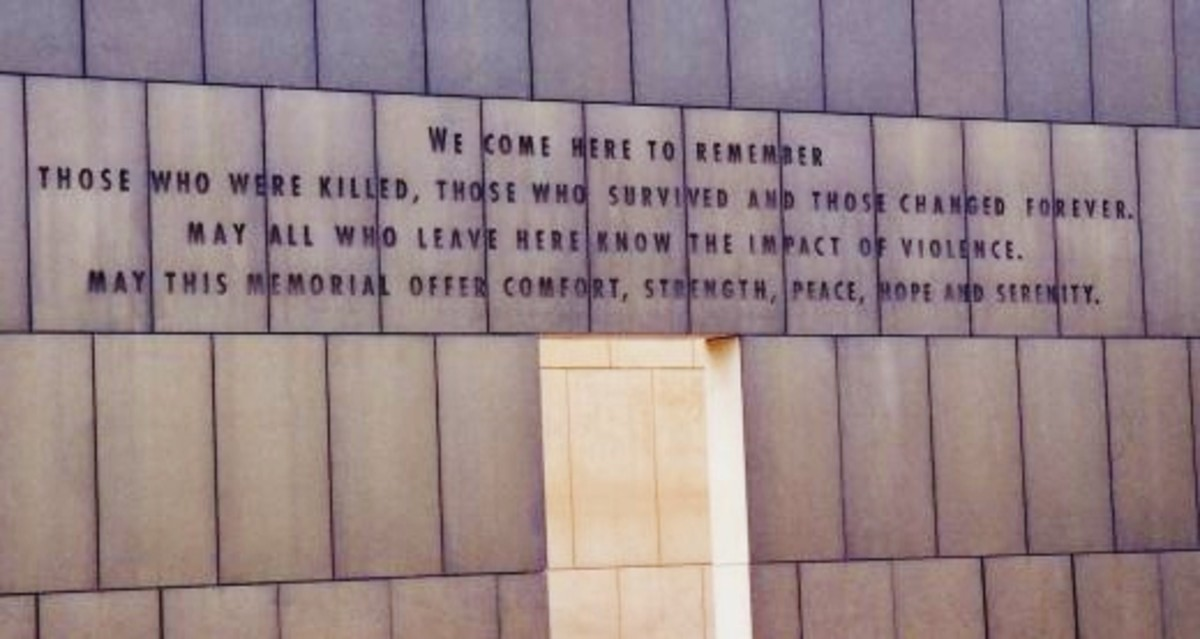 Seen at the Oklahoma City National Memorial