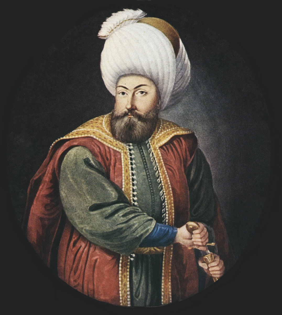 "Sultan Gazi ""father of kings"" Uthmān (Osman) Han I."