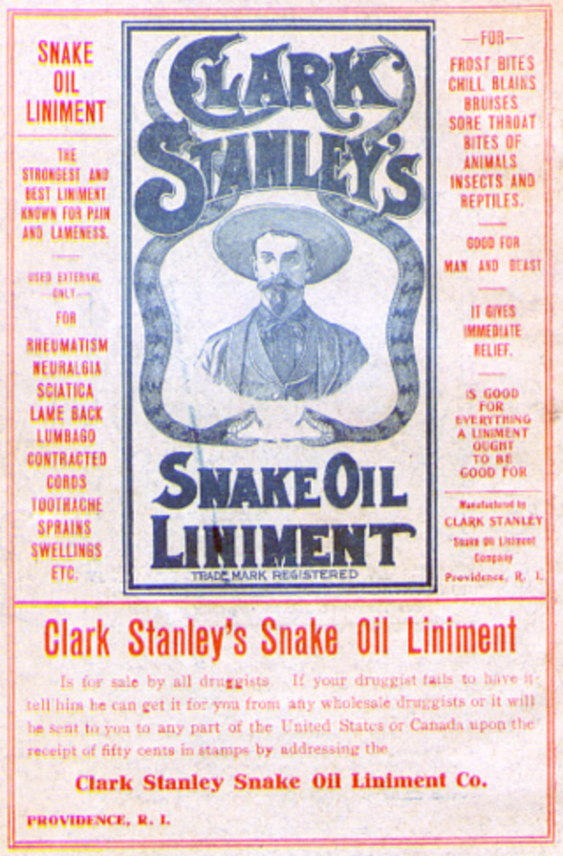 A History of Snake Oil