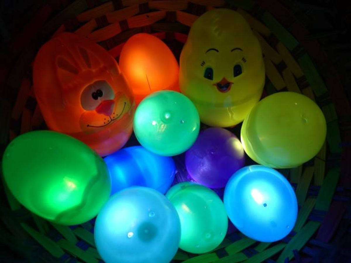 Ready for a glowing egg hunt.