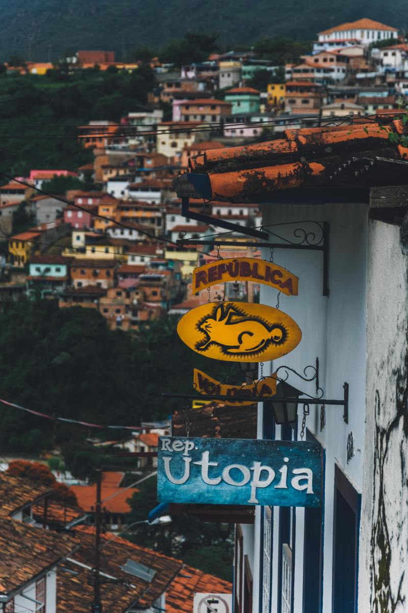 Utopia is a far distant Dream for humanity