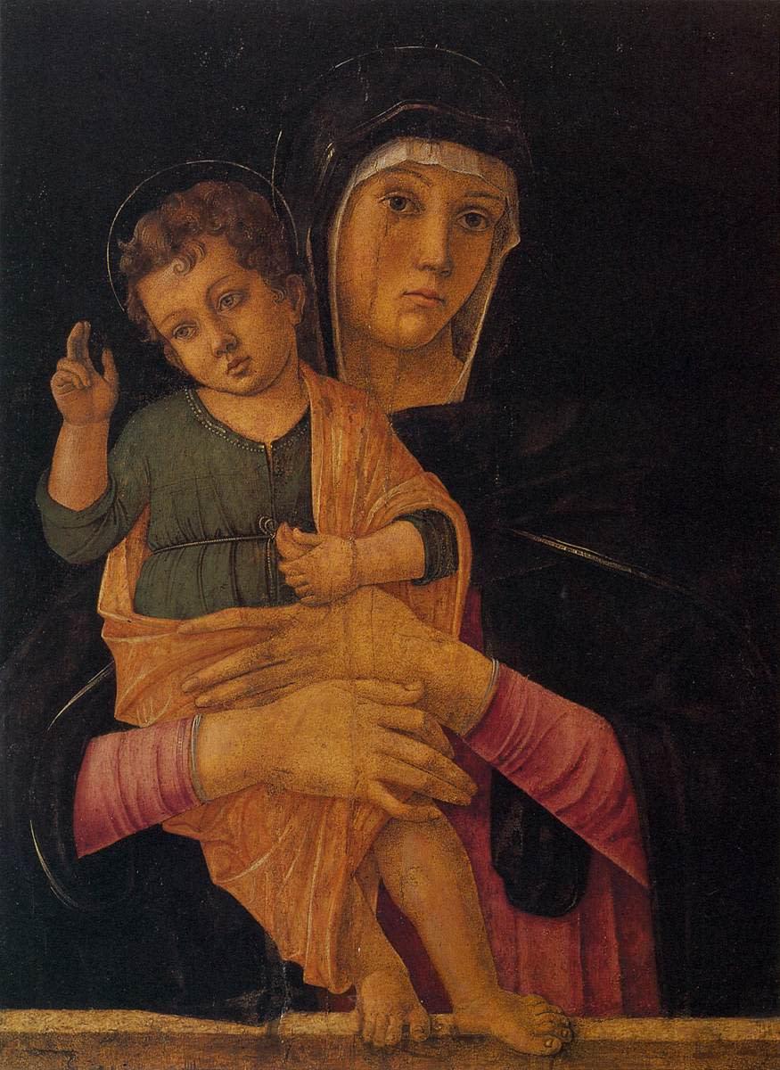 Madonna with Child (Bellini 1464)