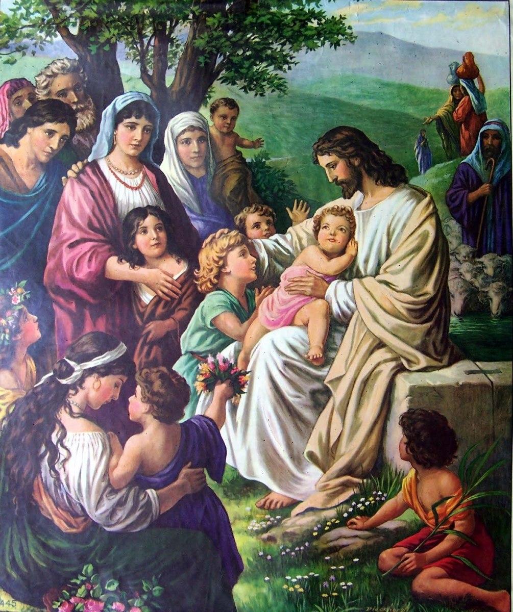 Jesus loves the little children . . .