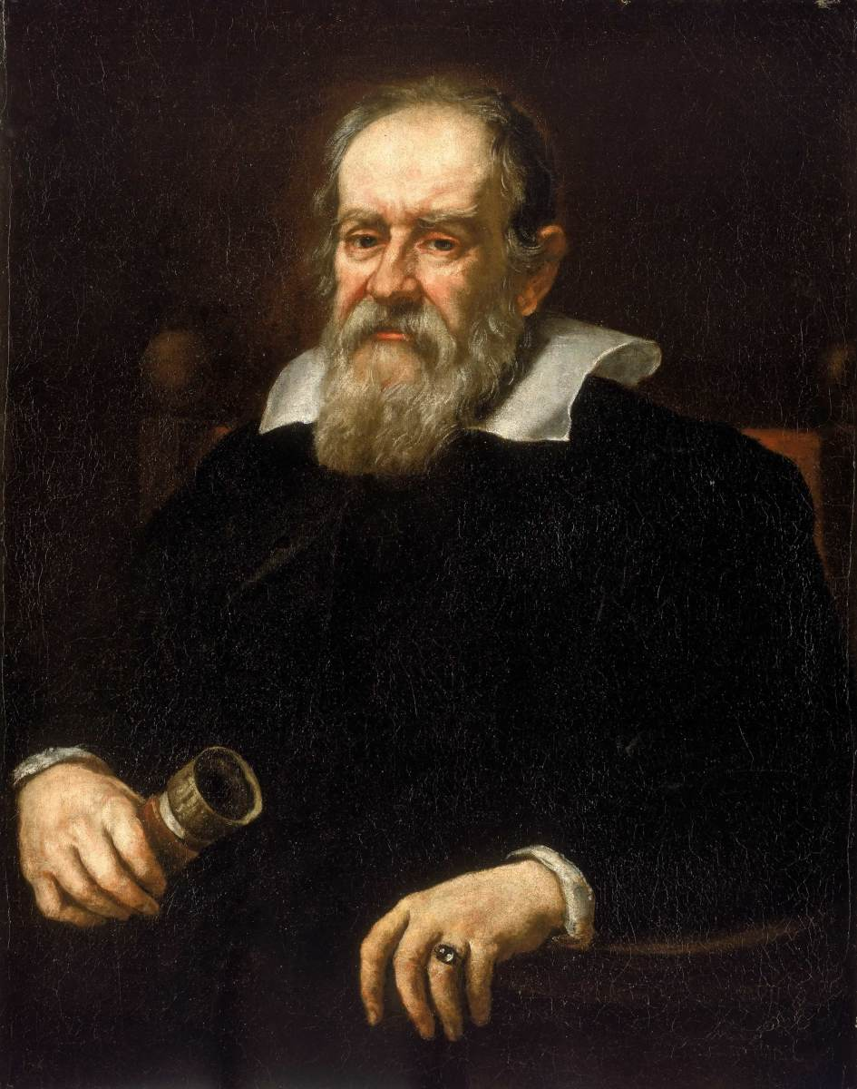 GALILEO GALILEI (PORTRAIT BY JUSTUS SUSTERMANS, 1636)