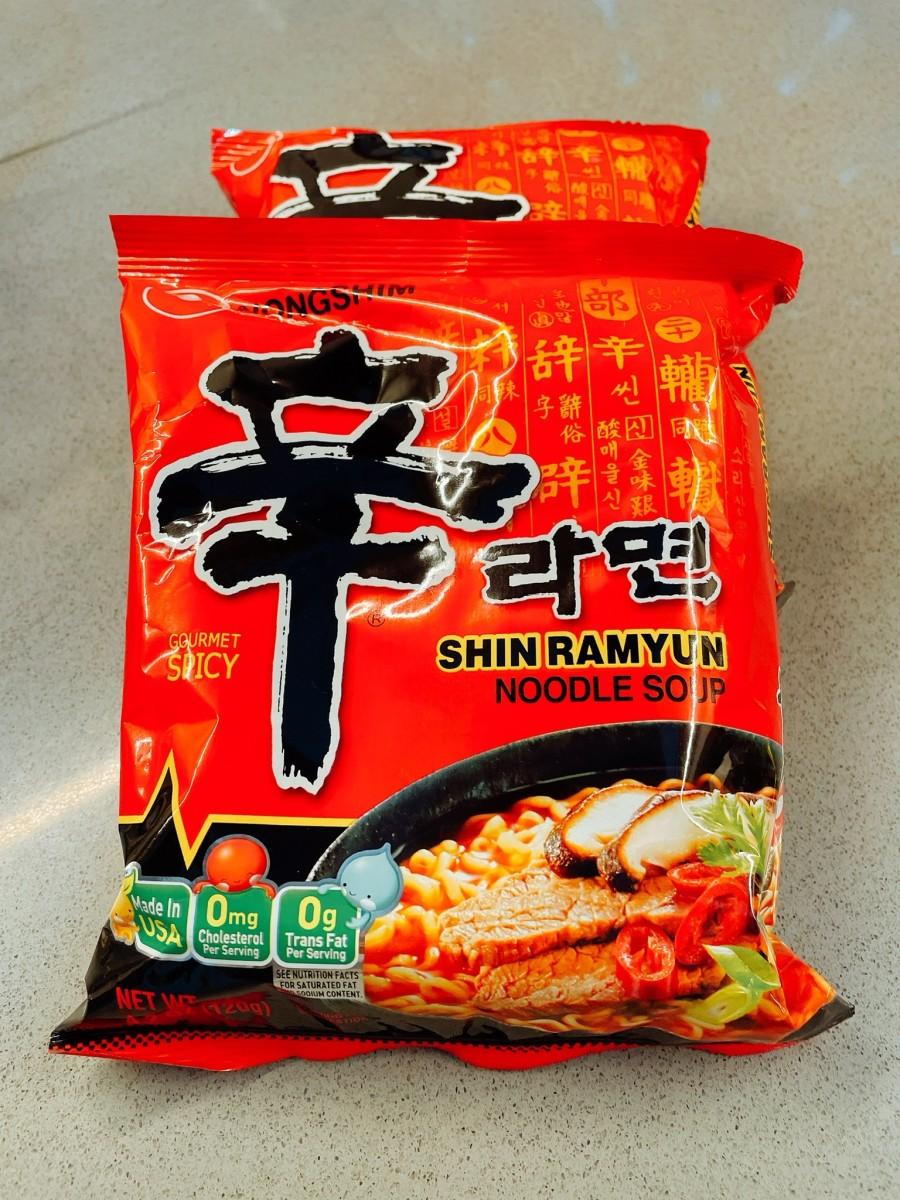 This is a Korean brand of ramen