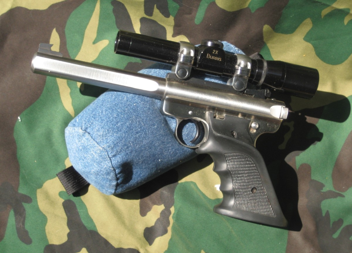 Ruger's Stainless Mk II Government Target .22 Auto