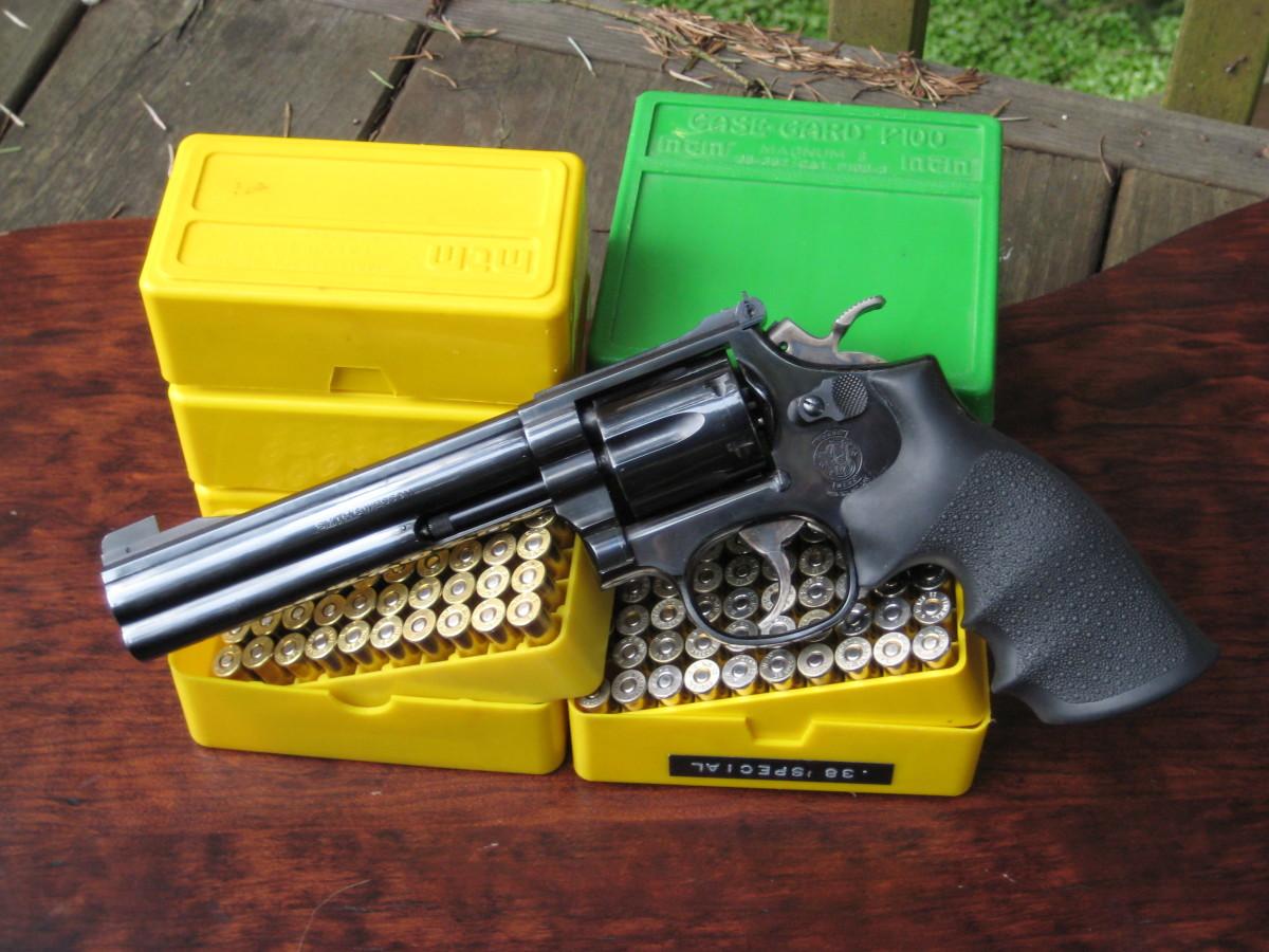 S&W Model 14-5 .38 Special Revolver