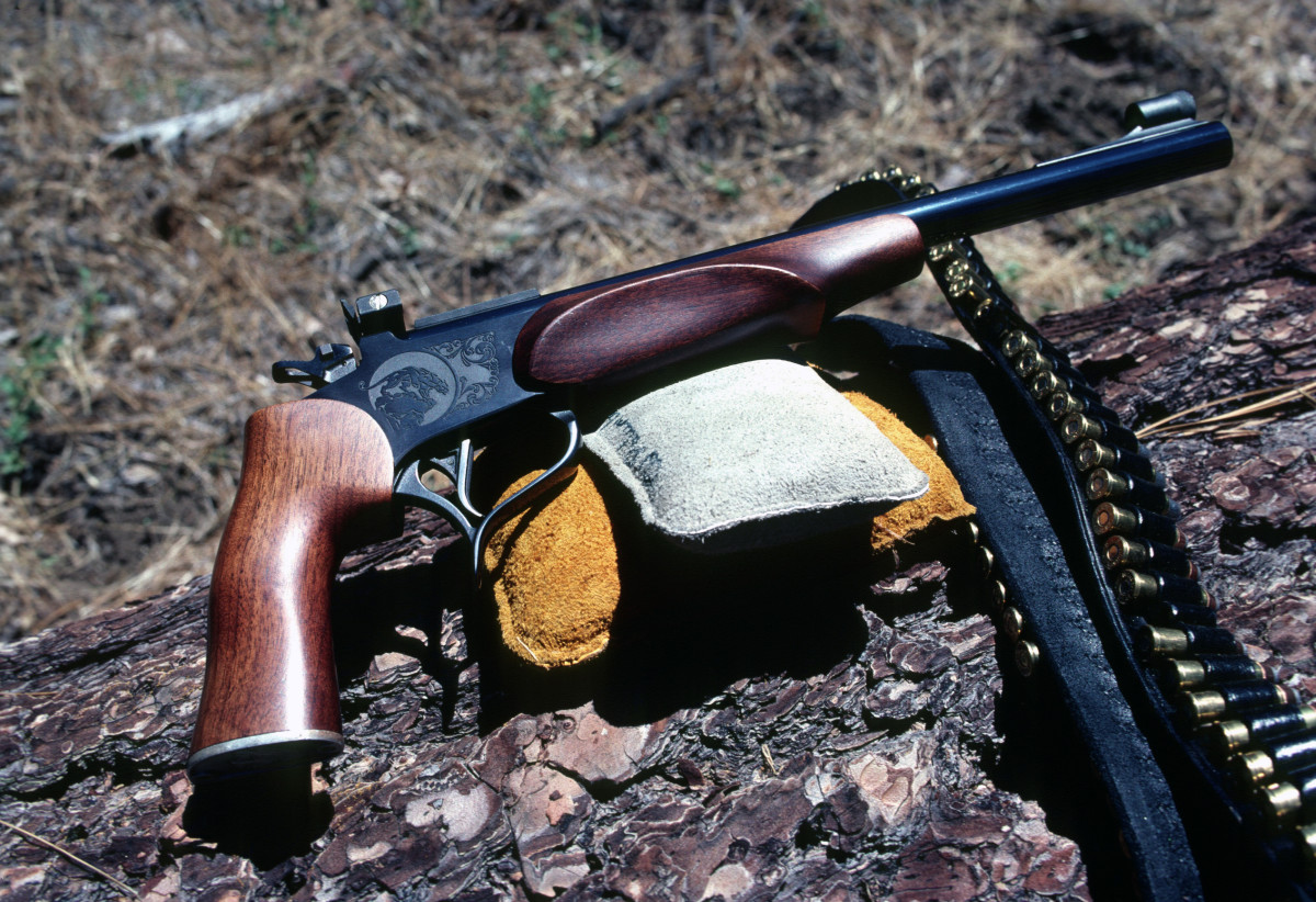 Thompson-Center Contender with 14-inch accessory barrel chambered for .41 Magnum.