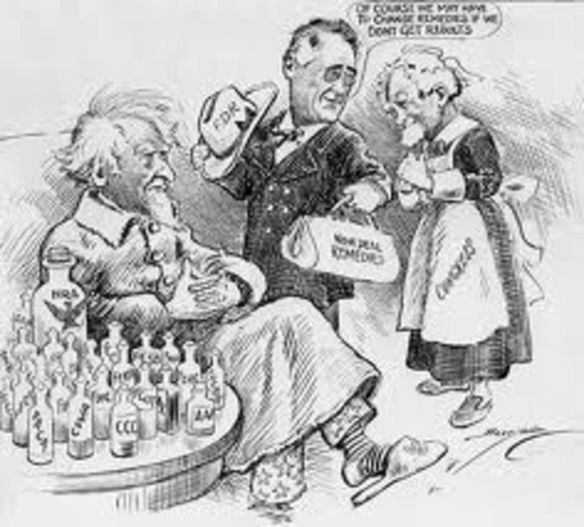 FDR's New deal prescriptions for Uncle Sam were bad medicine!