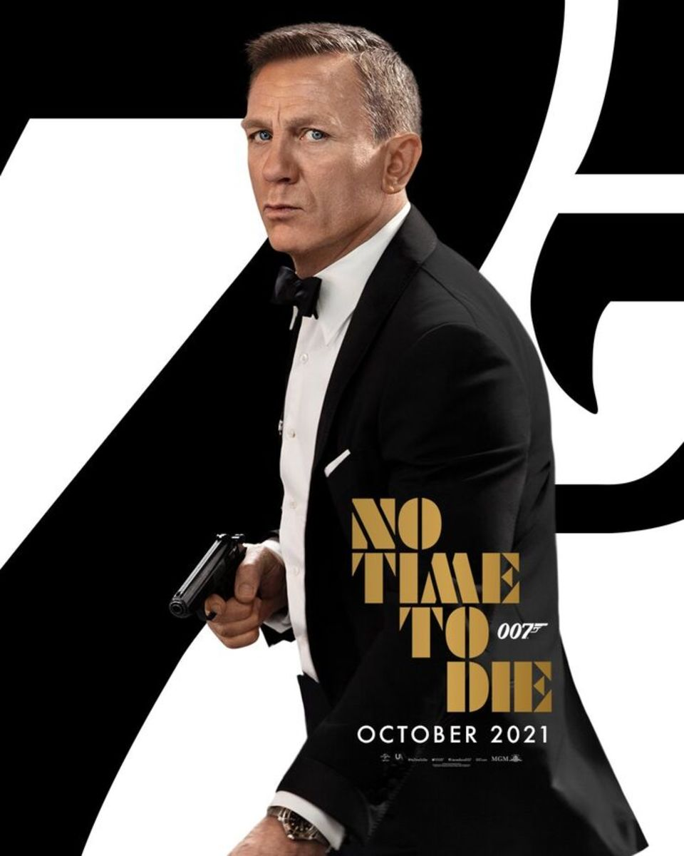 "James Bond 2021 film""no time to die"""