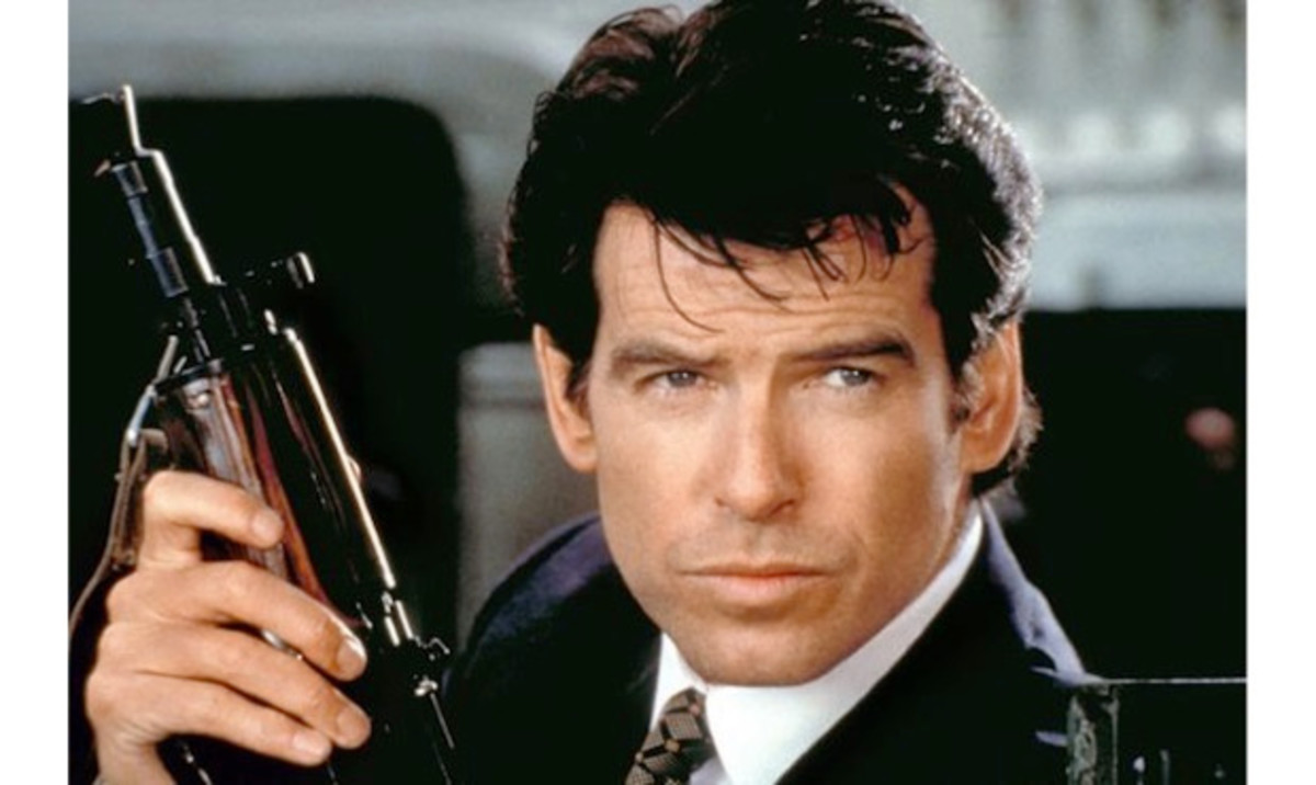 "Pierce Brosnan""Golden Eye"""