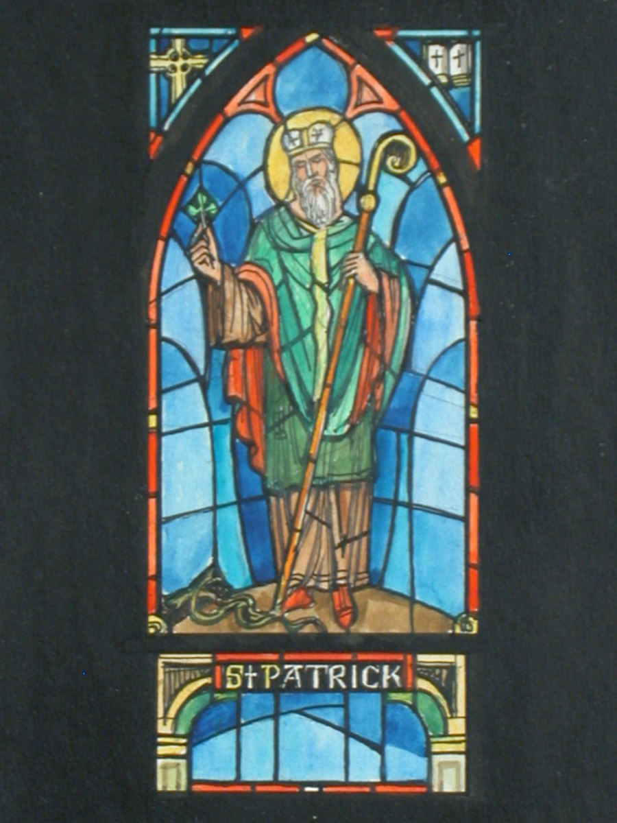 According to legend, St. Patrick used the Shamrock to explain the Holy Trinity to the Irish. Converts wore the Shamrock during the Holy Feast.