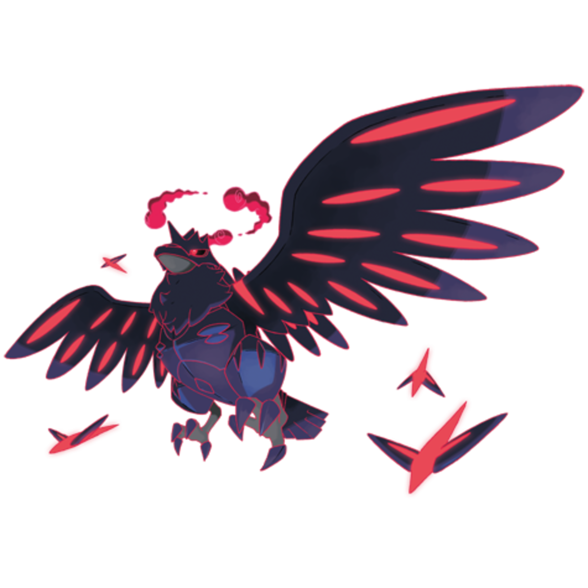 Corviknight's Gigantamax form