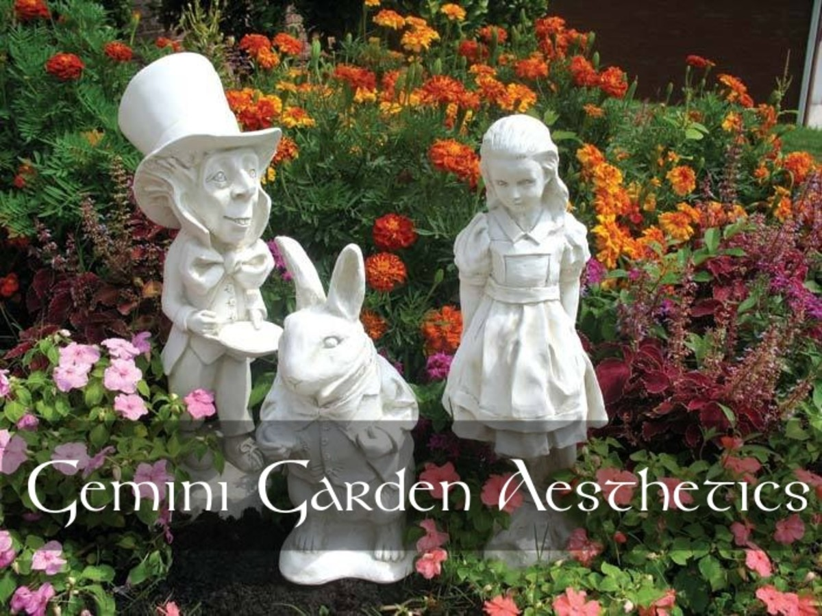 Gemini can get a plethora of inspiration for its garden from the classic children's tale: Alice in Wonderland.