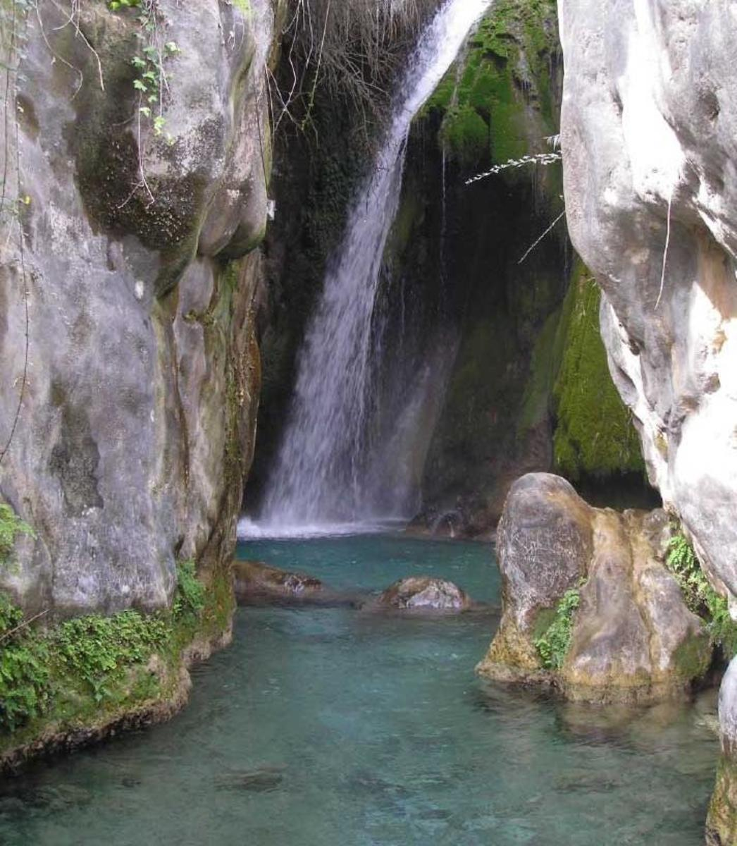 Algar Water Fall