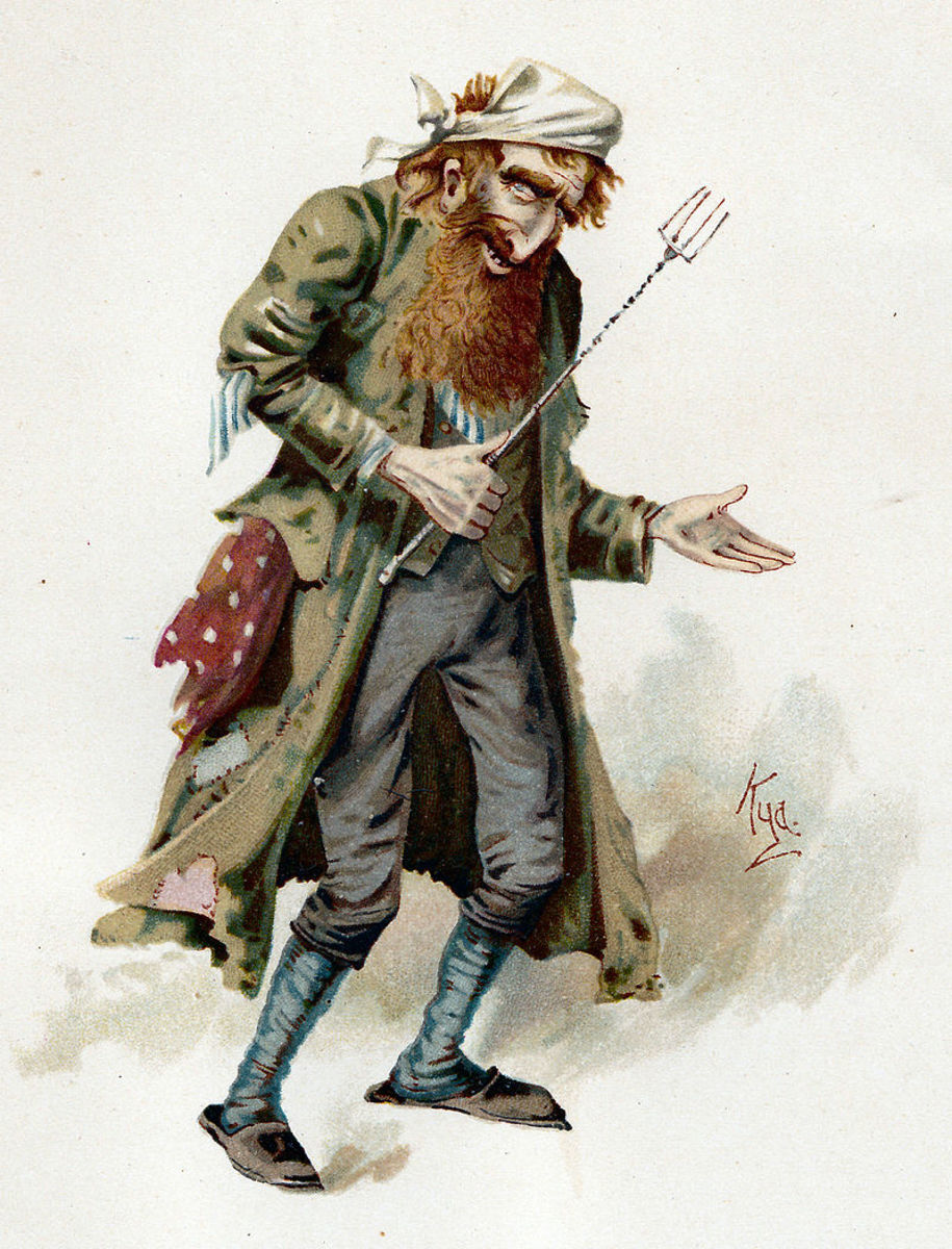 Fagin .... from Oliver Twist (Charles Dickens)