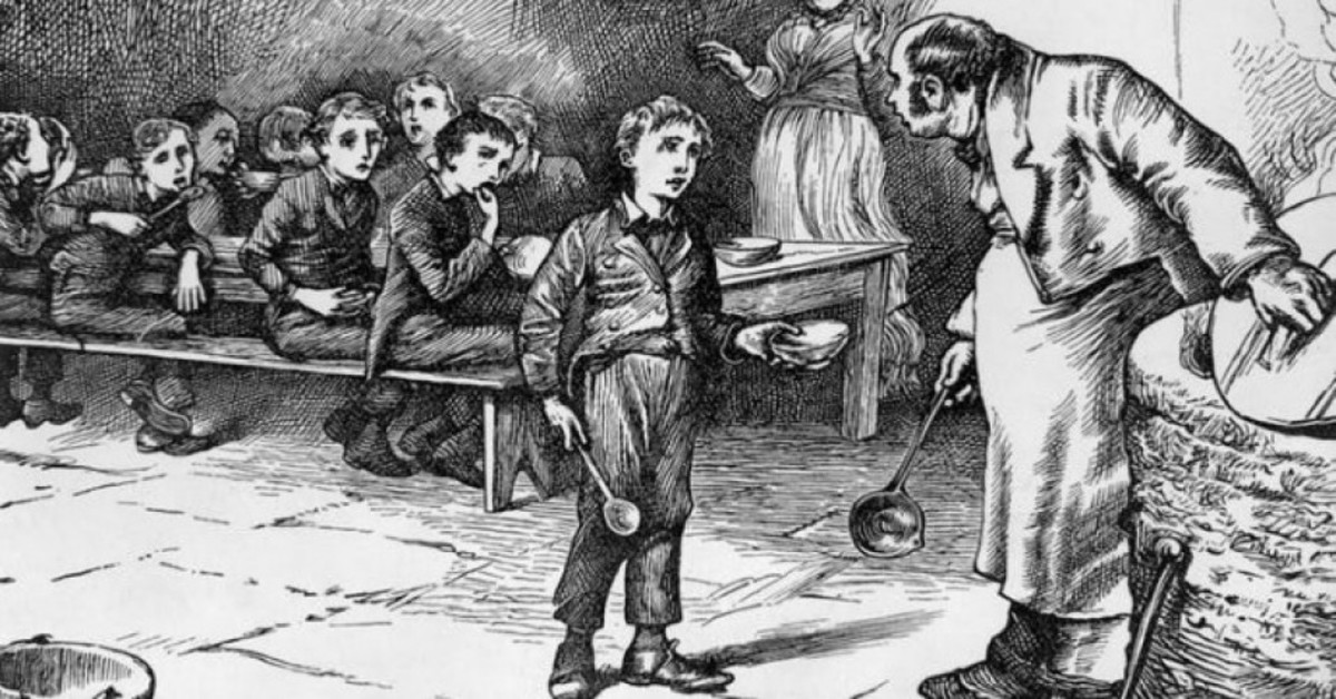 Remembering Oliver Twist - A Poem
