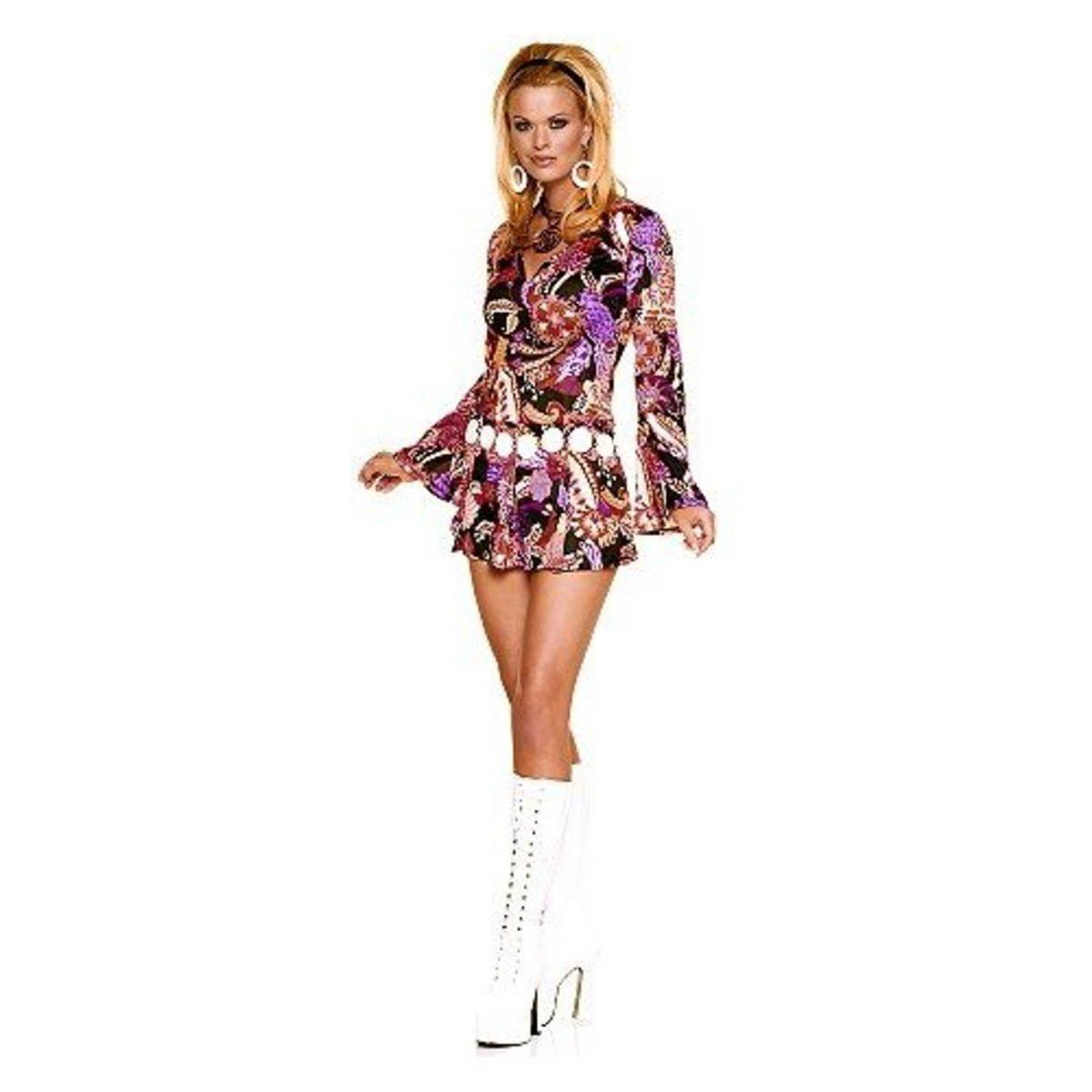 A vast majority of 'Disco Wear' was in fact professional dancing gear.