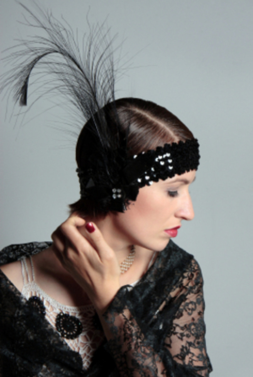1920's The corset was tosses aside as the new age 'Flappers' donned their new boyish look