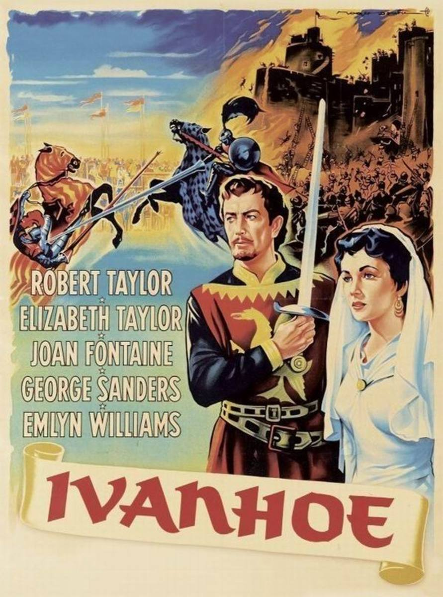 Ivanhoe (1952) French poster