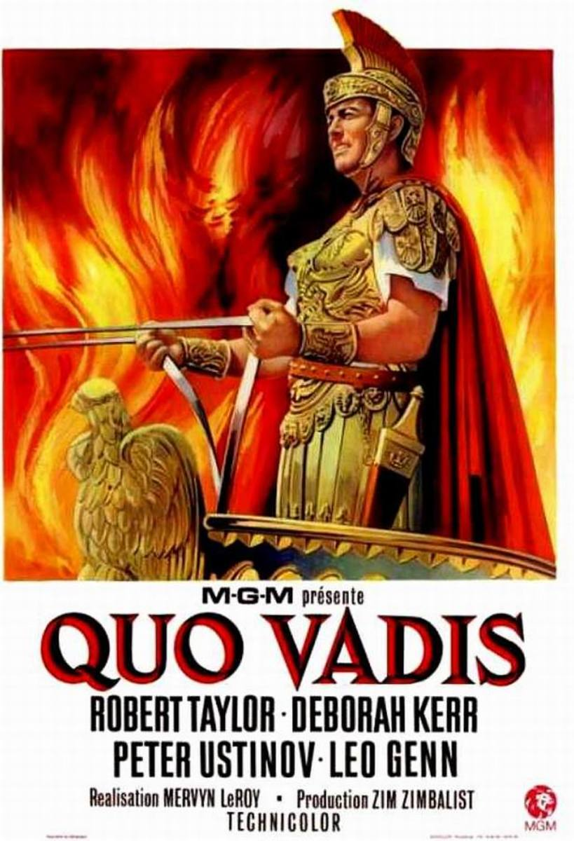 Quo Vadis (1951) French poster