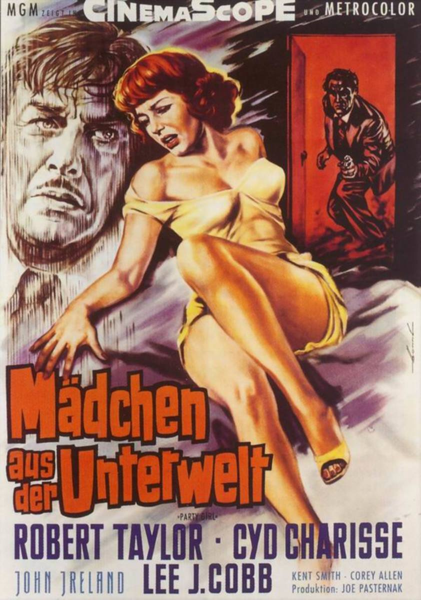 Party Girl (1958) German poster