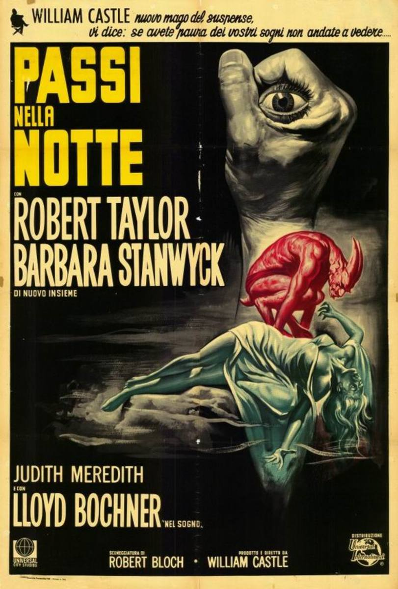 The Night Walker (1964) Italian poster